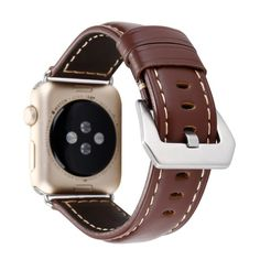 Leather Apple Watch Band Brown - Made of Leather - Apple Watch Bands/Straps