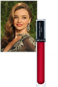 Miranda Kerr Loves Revlon ColorStay Liquid Lipstick – Celebrity and Fashion Cheap Beauty Bargains - Harper's BAZAAR
