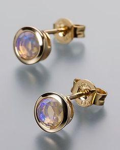 Terra Opalis Goldohrstecker mit Kristallopal                                                                                                                                                                                 Mehr