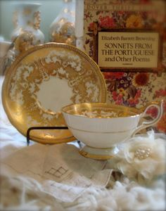 Gorgeous Aynsley Tea Cup and Saucer