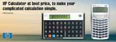 #HP #Calculator at best price, to make your complicated calculation simple.
