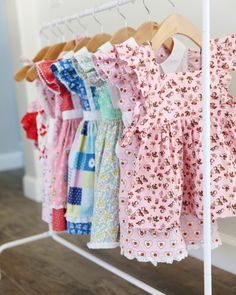 Little rack of dress