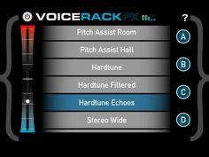 Voice Rack FX Screen