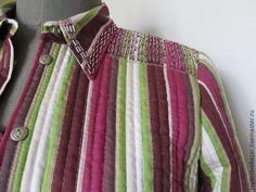 «Даёшь вторую жизнь устаревшей блузке!»: шьем тужурку - Ярмарка Мастеров - ручная работа, handmade