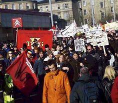 Glasgow Glasgow, February, War