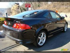 2006 Acura RSX Type S Sports Coupe in Nighthawk Black Pearl Photo ...