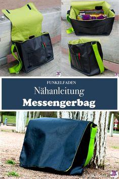 Nähanleitung Messengerbag