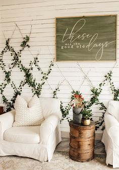 Today I'm sharing step by step how I created a DIY Indoor faux garden wall trellis in our home for spring! Indoor Ivy, Indoor Garden, Garden Pots, Garden Ideas, Boho Diy, Boho Decor, Patio Wall Decor, Wall Decorations, Outside Wall Decor