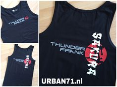 URBAN71 | For Creative Designing  -  Thunder Frank - Tanktop