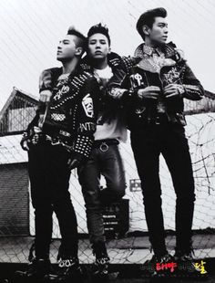 G-Dragon , Taeyang and TOP #BIGBANG Come visit kpopcity.net for the largest…