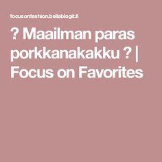 ♡ Maailman paras porkkanakakku ♡ | Focus on Favorites Food And Drink, Baking, Recipies, Bakken, Backen, Sweets, Pastries, Roast