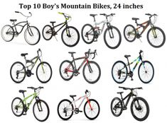 c26690fa742 Top 10 Boys Mountain Bikes in 24 inch Under 1000 for Christmas 2018 from  Best Mountain Bikes for 8 Year Old and Above Sale