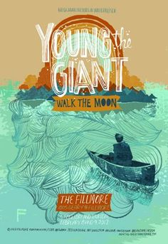 Fillmore Poster - Young the Giant