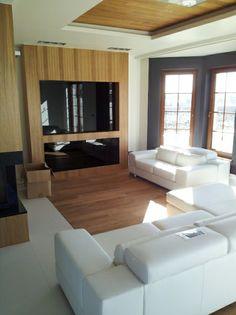 podłoga i sufit drewno - deska dębowa olejowana