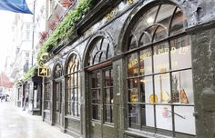 """Hamish showed Matthew the bottle of wine, and the vampire made an appreciative sound. ""That will do nicely.""  ""I should think so. The gentlemen at Berry Brothers and Rudd assured me it was excellent."" (A Discovery of Witches)  Pictured here is the London location of Berry Brothers and Rudd."