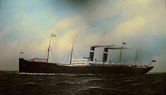Red Star liner Vaderland, 1901