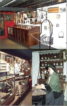 The Museum of Witchcraft - Located in Boscastle, Cornwall, England, the museum is the has the largest collection of witchcraft and Wiccan related artifacts in the world.