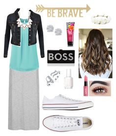 """""""ordinary day"""" by knipphannah on Polyvore featuring maurices, Home Decorators Collection, Effy Jewelry, Converse, Forever 21, Bling Jewelry, Essie, LE3NO, Full Tilt and NYX"""