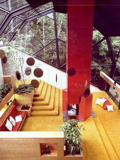 Open Living Room, Sammamish, Washington, 1970.