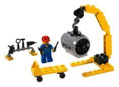 LEGO Airplane Mechanic - City 7901 LEGO http://www.amazon.com/dp/B000BVNRF8/ref=cm_sw_r_pi_dp_sk7Otb100Y40F6EM