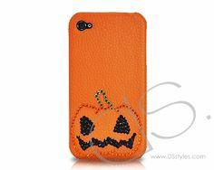 Halloween Bling Swarovski Crystal Phone Case - Pumpkin  vhttp://www.dsstyles.com/iphone-4-cases/halloween-series-halloween-crystallized-swarovski-phone-case-pumpkin.html