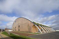 Royal Opera House Production Workshop / Nicholas Hare Architects