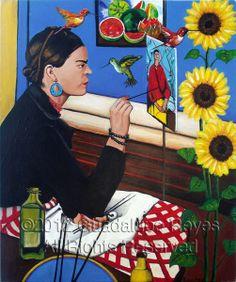 Depicting Frida Kahlo in Guadalupe Reyes' The Artist - ARTbracket