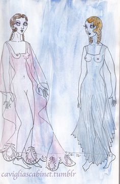Light gauze; See-through nighties. What's more provocative than wearing nothing at all? Wearing sheer garments ;)