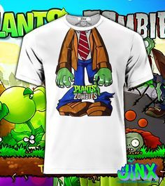 Playera o Camiseta Plantas vs Zombies - Jinx