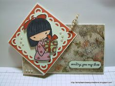 Simple and Sassy Creations - Mariko   **** Sister Stamps available from www.HankoDesigns.com ****