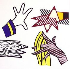 Roy Lichtenstein, Study of Hands