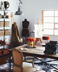 High style home office design inspirations! – Home Office Design Vintage