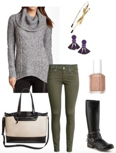 Class to Night Out: Chunky Sweater - College Fashion