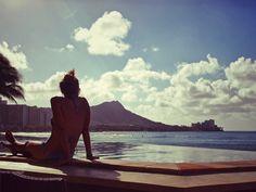 Sheraton Waikiki Edge Pool with Classic Diamond Head View