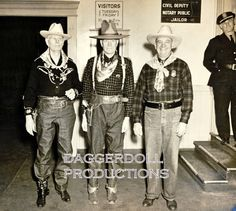 Old Cowboy Photo- Reproduction of 1930's Photograph - Home Decor- American Western History- FREE SHIPPING. $20.00, via Etsy.