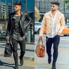 """368 Me gusta, 11 comentarios - Best Of Street Fashions© (@bestofstreetfashions) en Instagram: """"Which style do you guys like the most?? . left or right ??? . Comment down below Style by:…"""""""