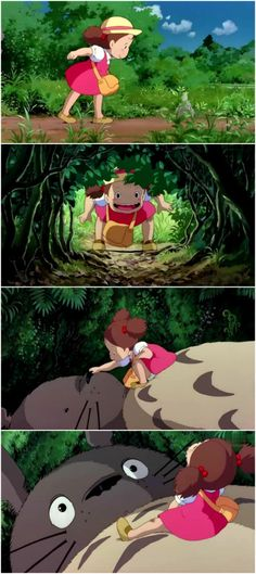 If my future offspring doesn't turn out exactly like Mei from Totoro, then I won't know what to believe in anymore.