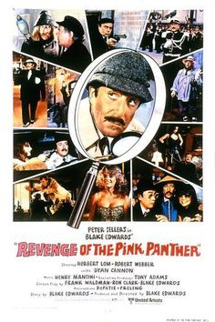 I don't know which Pink Panther movie is my favorite. Lately, this one has been. I am a huge Peter Sellers fan.