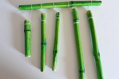 punk projects: Bamboo Wind Chimes DIY | Green Thumb?