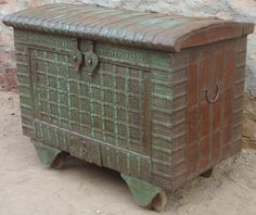Indian Antique Wheel Box