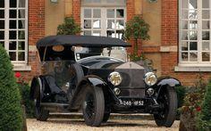 1924 Rolls-Royce Silver Ghost Torpedo #rolls #rollsroyce #silverghost #torpedo #classic #oldtimer #retro #vintage #black #british #uk #gb #1924 #20s #rr