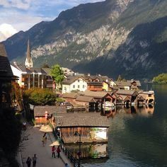 Sunny day in Hallstatt, Austria. Photo courtesy of ginabang on Instagram.