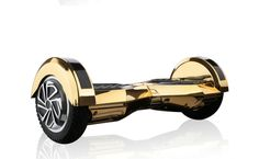 """Hoverboard Sport 2.0 (8"""" wheels) Limited Edition w/Bluetooth- Midas Touch GOLD (Chrome)"""