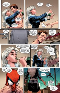 Browse the Marvel Comics issue Marvel's Spider-Man: The Black Cat Strikes Learn where to read it, and check out the comic's cover art, variants, writers, & more! Spiderman Black Cat, Spiderman Girl, Black Cat Marvel, Marvel Comics Art, Marvel Heroes, Marvel Characters, Marvel Girls, Create A Comic, Comic Panels