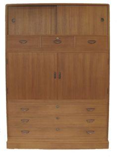 1450+shipping Vintage-Japanese-Kimono-Tansu-Clothing-Chest-Cabinet-Furniture