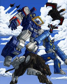 Transformer's Soundwave & crew being `busy'. ~ by Joe Ng (pencils) & EMB (colors). Boys will be boys right? Gi Joe, Godzilla, Gundam, Transformers Soundwave, Transformers Drawing, Transformers Generation 1, Samurai, Mileena, Marvel