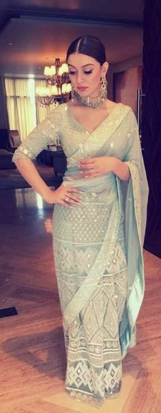 Do you require the best Indian Sari like Modern Saree plus Latest Elegant Designer Sari Blouse if so then CLICK Visit link to see Trendy Sarees, Stylish Sarees, Saree Dress, Dress Up, Lehenga Saree, Sari Blouse, Anarkali, Saris, Indian Attire