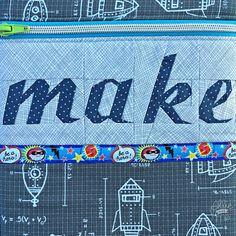 Allie & Me design: make a Simple Zipper Bag ★ for free
