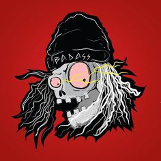 BADASS....!!! #badass #skull #illustration #dkvunp #padangambar #unphitz