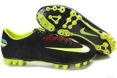 Nike Mercurial Victory III AG Black Light Green